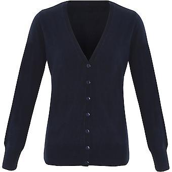 Premier - Women's Ladies 'Essential' Acrylic Cardigan