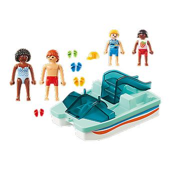 Playmobil 9424 Family Fun Floating Paddle Boat Playset