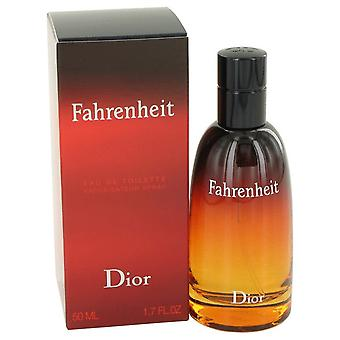 FAHRENHEIT av Christian Dior Eau De Toilette Spray 1.7 oz/50 ml (män)