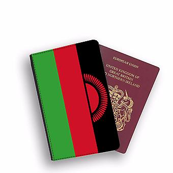 MALAWI Flag Passport Holder Style Case Cover Protective Wallet Flags design