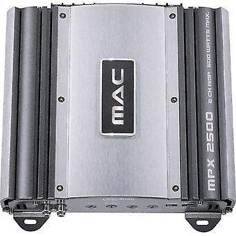 Mac audio MPX 2500 2-kanaals eindversterker, nieuwe