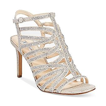 INC International Concepts Womens Gawdiegld Open Toe Special Occasion Strappy...