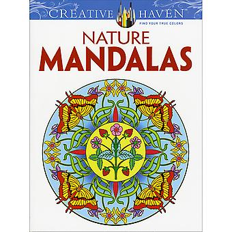 Dover Publications Nature Mandalas Dov 91374