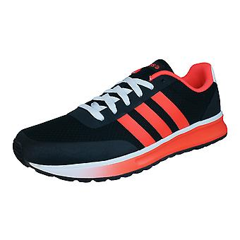 adidas V Racer TM II Mens Running Trainers / Shoes - Black