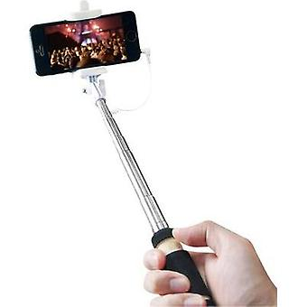 Selfie stick LogiLink BT0036 8,7 cm Black Chrome inkl bag
