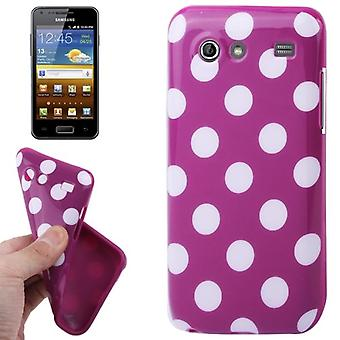 Protective case for mobile Samsung Galaxy S advance i9070 purple