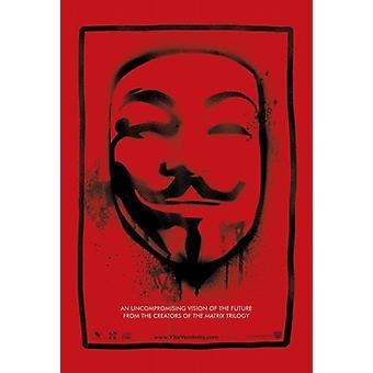V for Vendetta Movie Poster (11 x 17)