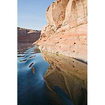 Glen Canyon Lake Powell Antelope Canyon Poster Print par Jamie & Judy Wild