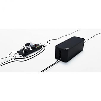 Bluelounge CB-01-BL CableBox cable storage black