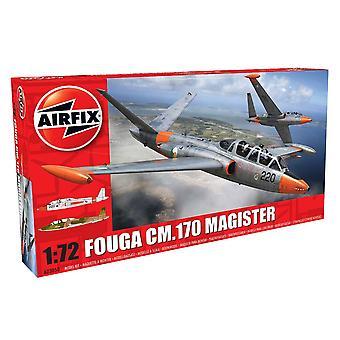 Escala 1/72 de Airfix Fouga CM.170 Magister