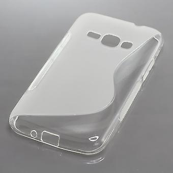OTB TPU CASE COMPATIBLE WITH SAMSUNG GALAXY J1 (2016) SM-J120 S-CURVE TRANSPARENT