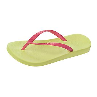 Ipanema Tropical Womens Flip Flops / Sandals - Lemon Pink