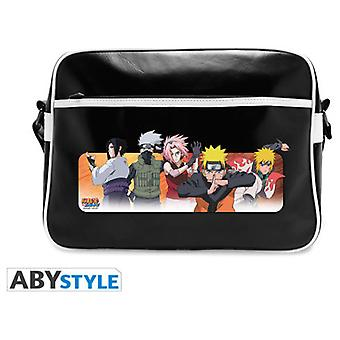 Abysse Naruto Shippuden Messenger Bag Good Guys Vinyle (Toys , School Zone , Backpacks)