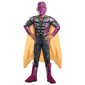 Vision Deluxe Avengers Age of Ultron Superhero Boys Costume