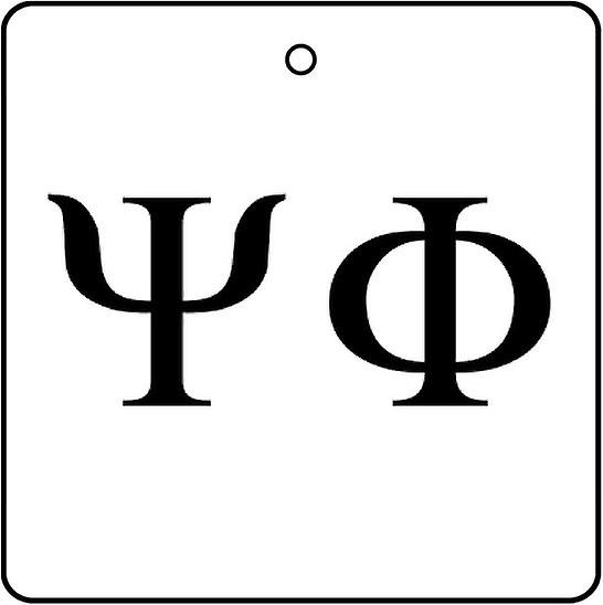 Psi Phi Car Air Freshener
