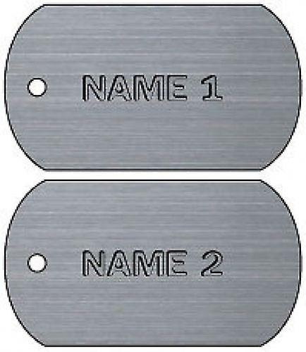 Personalised Name Dog Tag Car Air Freshener