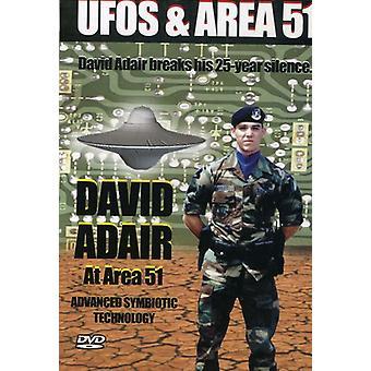 Vol. 3-David Adair at Area 51 [DVD] USA import