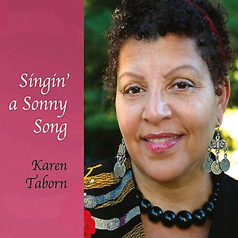 Karen Taborn - Singin eine Sonny Song [CD]-USA import