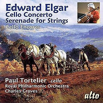 Paul TortelierConcal Philharmonic Orche - Elgar: Cello Concerto; Serenade for Stri [CD] USA import