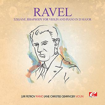 Ravel - Tzigane Rhapsody for fiolin Piano D-dur [DVD] USA import