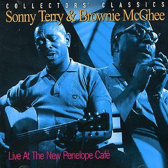 Terry/McGhee - Live på nye Penelope [CD] USA importen