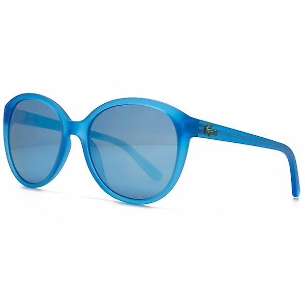 Lacoste Kids Childrens Cateye Sunglasses In Blue