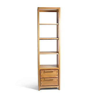 Direct Home Living Reno Oak Large Narrow Bookcase