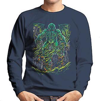 Godbusters Ghostbusters Cthulhu Mythos Men's Sweatshirt