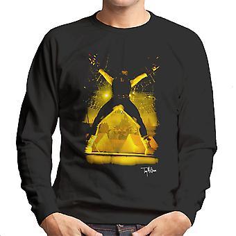 Iron Maiden Bruce Dickinson Durchführung Herren Sweatshirt