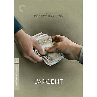 L'Argent [DVD] USA import