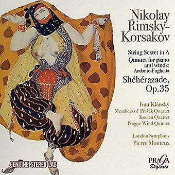 Rimskij-Korsakov / Monteux, Pierre - Sheherazade [CD] USA import