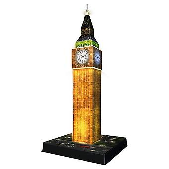 Ravensburger 3D light Big Ben Puzzle 39 Cm 216 Pieces (Toys , Boardgames , Puzzles)