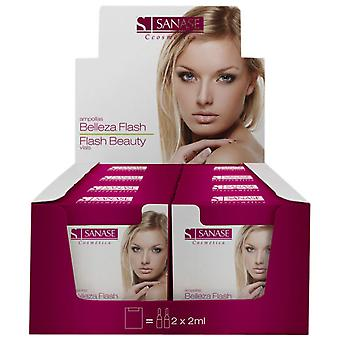 Sanase  Beauty Flash 2 * 2 Blisters (Woman , Cosmetics , Skin Care , Facial Cleansing)