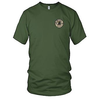 USAF Air Force 405th Flugpolizei Night Hawks - 509th SIS - Vietnamkrieg gestickt Patch - Mens-T-Shirt