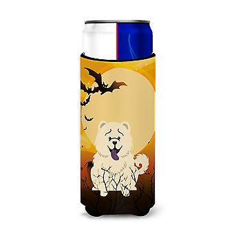 Halloween Chow Chow White Michelob Ultra Hugger for slim cans