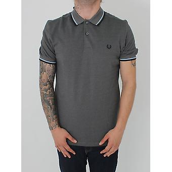 Fred Perry Twin Tipped Classic Polo - Storm