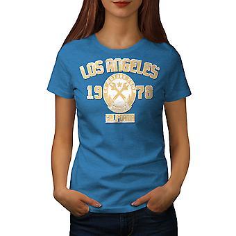 Los Angeles California Frauen königlichen BlueT-Hemd | Wellcoda