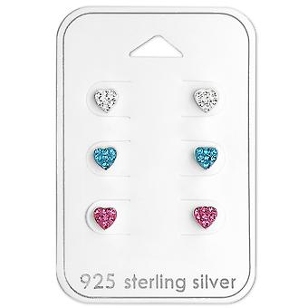 Heart - 925 Sterling Silver Sets