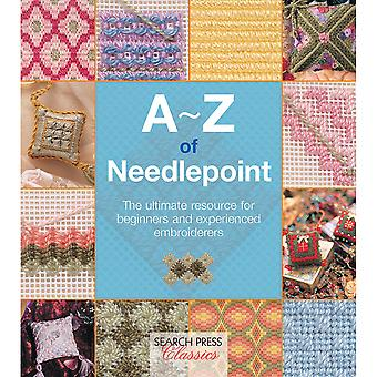 Search Press Books-A-Z Of Needlepoint SP-11723