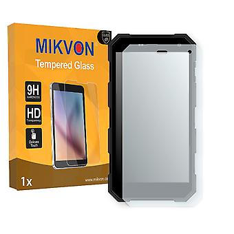 Archos 50 Saphir Outdoor Screen Protector - Mikvon flexible Tempered Glass 9H (Retail Package with accessories)