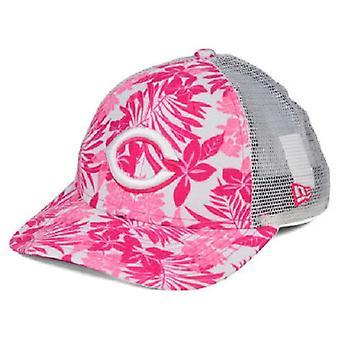 Cincinnati Reds MLB New Era 9Forty Flower Power Youth Snapback Hat