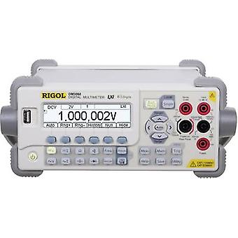Bench multimeter Digital Rigol DM3068 Calibrated to: Manufacturer's standards (no certificate) CAT II 300 V Display (co
