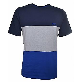 Hugo Boss Kids Hugo Boss Kids Navy Blue Block Colour T-Shirt