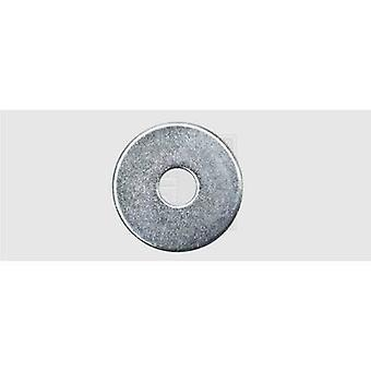Mudguard repair washer Inside diameter: 4.3 mm M4 Steel zinc plated 100 pc(s) SWG 41142020