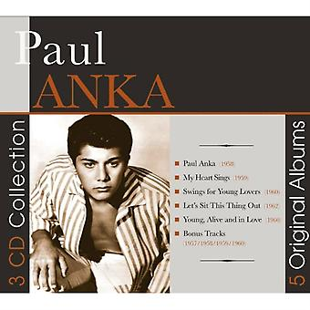 Paul Anka-5 Original Albums by Paul Anka