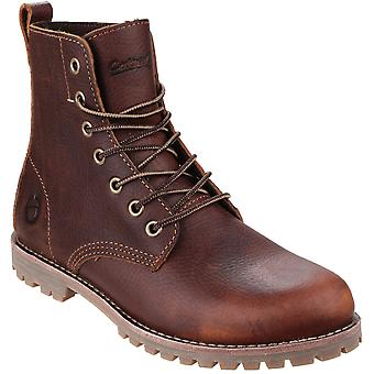 Cotswold Womens/Ladies Elm Waxed Leather Walking / Combat Boots