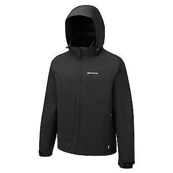Sprayway Mens Atom 3in1 Mesh Taffeta Dry Shell Fleece Jacket Black