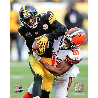 Mike Hilton 2017 Action Photo Print