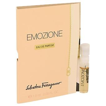 Emozione Vial (sample) By Salvatore Ferragamo