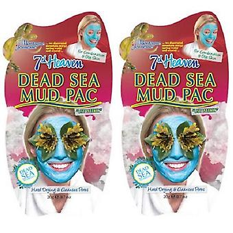 7th Heaven Dead Sea fango Pac 2 Pack